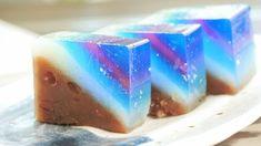 青い星空のように美麗な和菓子「天の川」を食べてみました - GIGAZINE