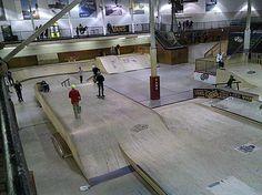best indoor skatepark in the world - Google Search Vans Skate, Skate Park, Skateboarding, Layout, Indoor, Urban, Culture, Google Search, Architecture