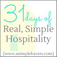 Real, Simple Hospitality ----> Love the simple way she breaks down the art of being hospitable, looking forward to learning lots over the month. Potluck Themes, Hygee Home, Reading Day, Read Later, Easy Entertaining, 31 Days, 30 Day Challenge, Real Simple, Life Skills