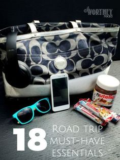 18 Road Trip Must Have Essentials I have learned a few things when it comes to road trips with my family and what you should bring. There are definitely a few must-have items and other items that are optional (but good to have). Click through to read this helpful list! A Worthey Read