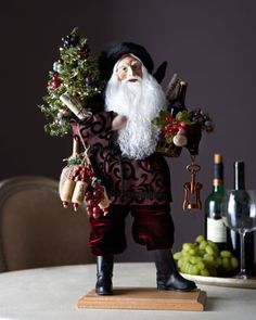 Christmas in the Vineyard Santa by Lynn Haney at Horchow | #horchowholiday2014