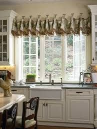 Kitchen Window Treatments With Blinds Valances.Corner Kitchen Window Treatment Ideas Caf Curtains For . Pin By DH Designer Homes On Cornice Board Pelmet Box The . Home and Family Kitchen Window Treatments With Blinds, Kitchen Window Coverings, Kitchen Window Valances, Custom Window Treatments, Kitchen Curtains, Window Blinds, Window Swags, Farmhouse Valances, Blinds Curtains