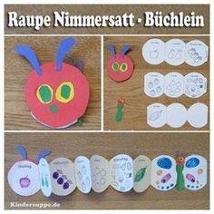 Die kleine Raupe Nimmersatt – Spielen und Lernen Ideen für Kita und Kindergarten | Kindersuppe
