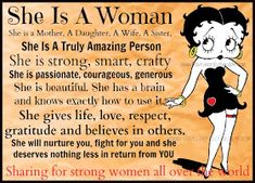 Betty boop words of wisdom. betty boop words of wisdom. motivational quotes for women Positive Quotes For Women, Motivational Quotes For Women, Strong Women Quotes, Teen Quotes, Motivational Videos, Family Quotes, Mantra, Beth Moore, Betty Boop