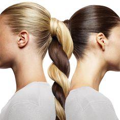 Blonde and Brunette twist