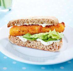 Rezept: Fischstäbchen Sandwich
