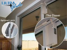 DCS Ultra Glide Sliding Glass Door Closer ... May Be A Solution For Mom