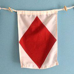 """""""F"""" Nautical Signal Flag My Signal Flags http://www.amazon.com/dp/B00MG4I9U6/ref=cm_sw_r_pi_dp_Voy3wb1R4754J"""
