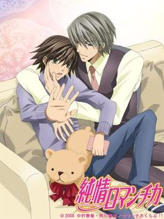 Junjou Romantica Season 3 - SO happy this is back and better than ever!!!