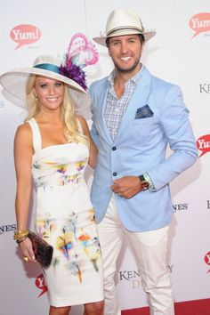 Kentucky Derby 2013 ~ Caroline and Luke Bryan
