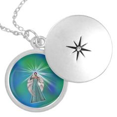 Angel of Light Locket Necklace - jewelry jewellery unique special diy gift present