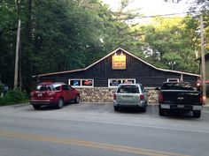 Cutest restaurant ever, it was in the middle of the woods.  Sheboygan, Wisconsin.