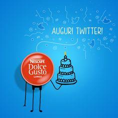 """Cinguettiamo """"tanti auguri"""". È il compleanno di Twitter! (Pic by Nescafè Dolce Gusto)"""
