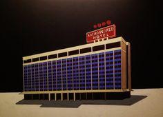 The Astroworld Hotel - Acrylic on Canvas