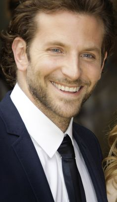 Bradley Cooper.  mmmm.  so cute.
