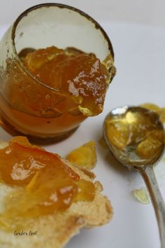 A super easy recipe for whisky and ginger marmalade by Scottish author Karon Grieve of www.larderlove.com