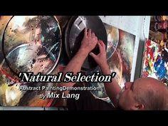 (8) Simple Basic Painting Design, Fun Washes, Glazing, Blending, Enjoy - YouTube