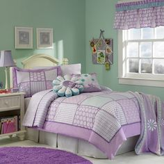 Colormate Kids Daisy Delight Comforter - Girl's Room Design