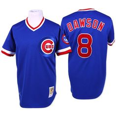 A personal favorite from my Etsy shop https://www.etsy.com/listing/293798979/chicago-cubs-andre-dawson-majestic