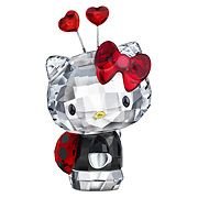 Swarovski Hello Kitty Ladybug. Seriously?? <3 <3 I need a 2nd job to cover my Swarovski addiction.