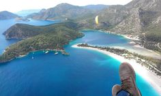 epic moments. paragliding in oludeniz, turkey