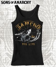 BikerOrNot Store - Sons of Anarchy - Charging Reaper Ladies Tank, $21.97 (http://store.bikerornot.com/sons-of-anarchy-charging-reaper-ladies-tank/)