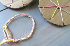 nos bracelets kuhimino faciles à fabriquer avec du carton