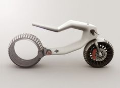 Futuristic Vehicle, E-MX Electric motorcycle