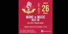 Mons'n'Music Best of: giovedì 26 maggio grande festa musicale al Mons