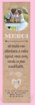 remerciement mariage rf n200302 chez monfairepartcom - Texte Remerciement Mariage Parents