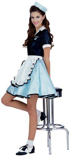 nice Rubie's Costume Fabulous 50's Car Hop Girl Costume
