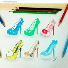 Facebook, WhatsApp, YouTube, Snapchat, Instagram & Twitter [as shoes] (Drawing by R.osmanlioglu @Instagram) #SocialMedia