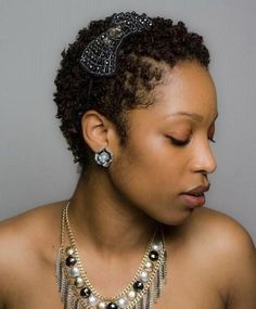 pictures of short natural hairstyles