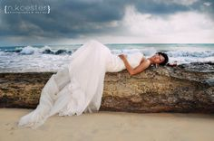 """Who says you can't """"Trash"""" your dress! One of my fav's from our Trash the Dress session with Nicole Koester, the best photographer EVER!"""
