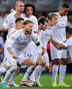 The moment they won La Undecima❣️❣️❣️