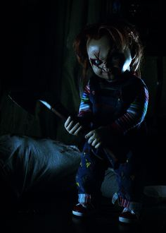 Curse of Chucky Slasher Movies, Horror Movie Characters, Best Horror Movies, Classic Horror Movies, Horror Films, Scary Movies, Arte Horror, Horror Art, Chucky Movies