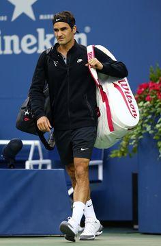 2d11409ded2e3a Roger Federer Photos Photos  US Open  Day 2
