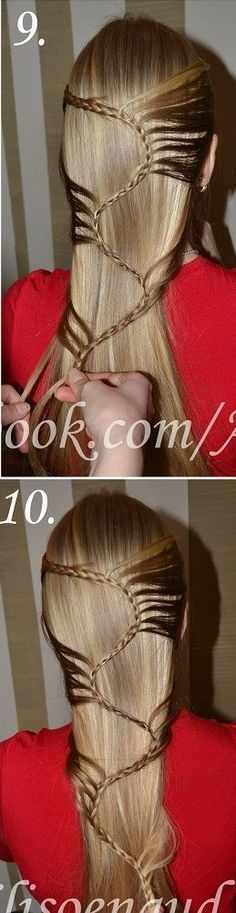 Amazing Hairstyle for Long Hair