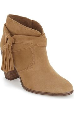 Vince Camuto 'Fianna' Tassel Bootie (Women) available at #Nordstrom