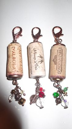 Items similar to Copper recycled cork holiday crystal metal ornament on Etsy Wine Craft, Wine Cork Crafts, Wine Bottle Crafts, Wine Cork Jewelry, Wine Cork Art, Wine Cork Ornaments, Snowman Ornaments, Wine Bottle Corks, Bottle Candles