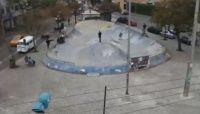Pistas de skate ao vivo Praça do Gaúcho  Curitiba, PR -  Na primeira pista de skate a ser divulgada esta a famosa pista de skate da praça do Gaúcho na capital paranaense uma das mais conhecidas e frequentadas da cidade.