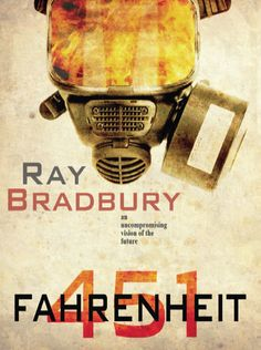 Fahrenheit 451 is a dystopian novel by Ray Bradbury published in 1953. It is regarded as one of his best works. The novel has been the subject of various interpretations, primarily focusing on the historical role of book burning in suppressing dissenting ideas. In a 1956 radio interview, Bradbury stated that he wrote Fahrenheit 451 because of his concerns at the time (during the McCarthy era) about censorship and the threat of book burning in the United States.