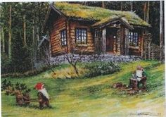 Gnomes on the homestead...