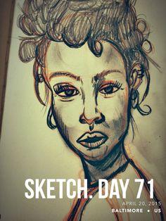 #sketchaday #artlove #penandink #nerds #art #sketchbook #artists #imayneednewglasses #pencils #acompanyofn3rds #sanctuary #n3rds #prismacolor #moleskine #camu