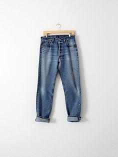 vintage Levi's 501xx denim jeans, waist 32 - 86 Vintage