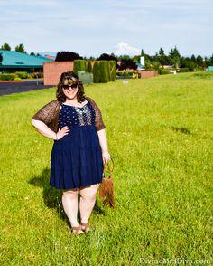 Hailey combats the heat in this Embroidered Challis Sundress from Torrid. - DivineMrsDiva.com  #TorridInsider #Torrid #CrocsSandal #Crocs #YoursClothing #psblogger #plussizeblogger #styleblogger #plussizefashion #plussize #psootd #ootd #plussizeclothing #outfit #spring #summer #style #plussizecasual