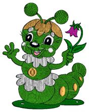 Baby Warm Embroidery design - Machine Embroidery Designs