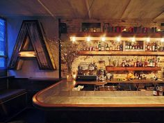 It's a brave venue which takes over the space formerly occupied by the influential and much-loved Milk and Honey.