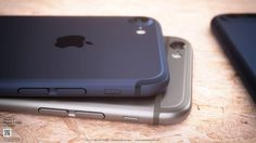 """Así podría ser el iPhone 7 en color azul """"Deep Blue"""""""