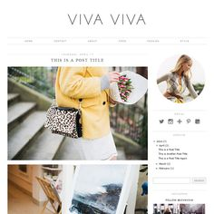 A fresh, clean and minimal Blogger Template with a professional look and feel. Features a left or right sidebar, top menu, social icons and more.